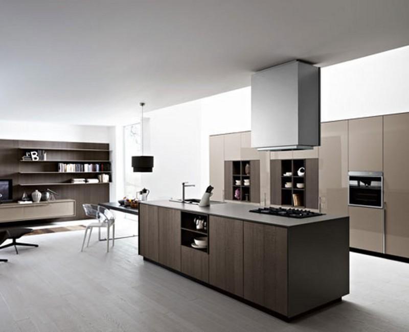 21Модерн в кухне интерьер