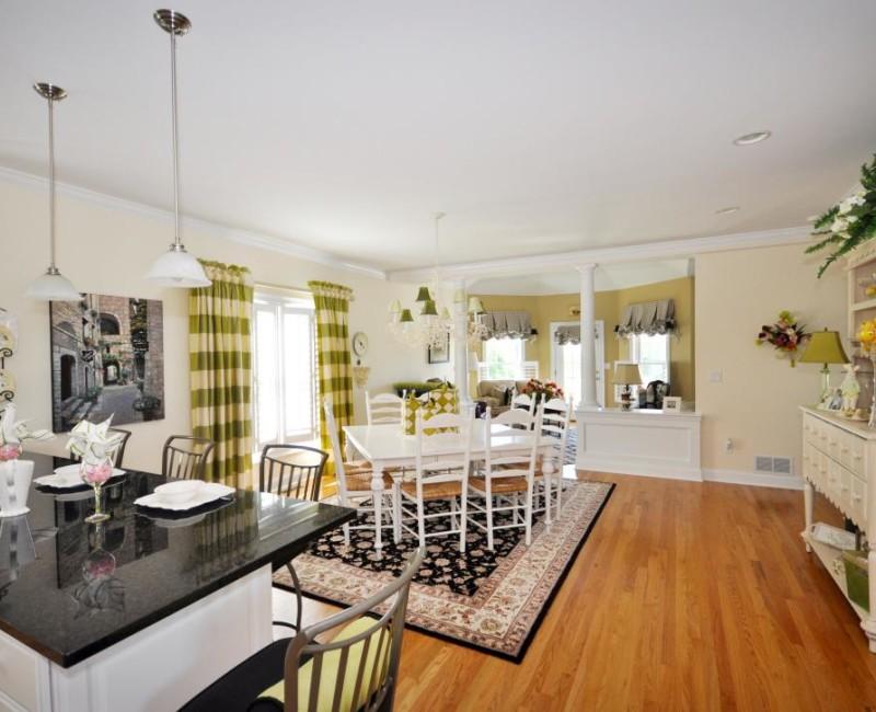 дизайн кухни гостиный