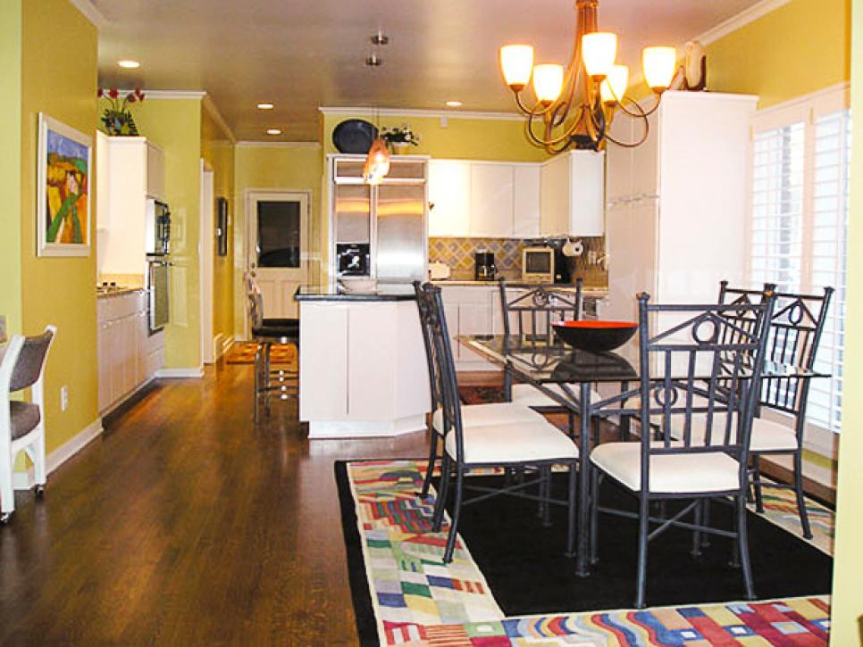 кухня гостиная в доме фото