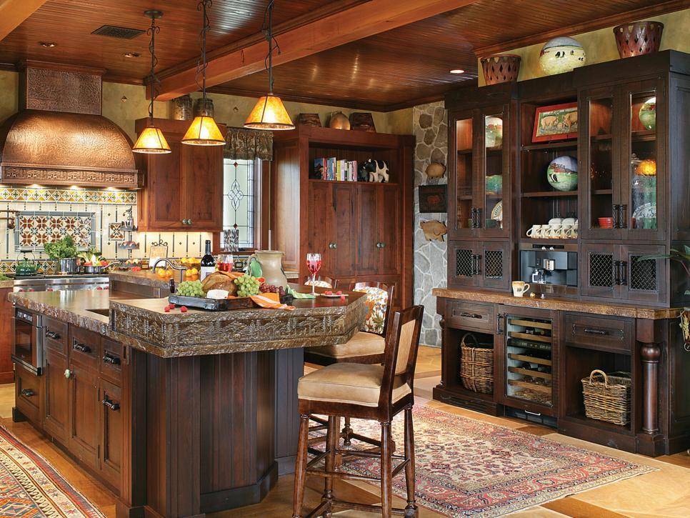 кухня гостиная в частном доме