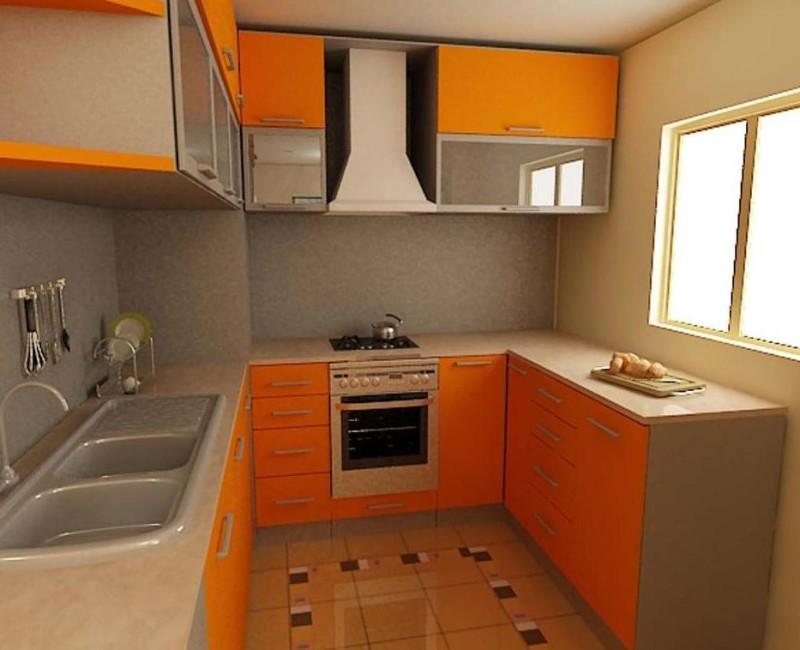 гарнитур  для маленькой кухни фото