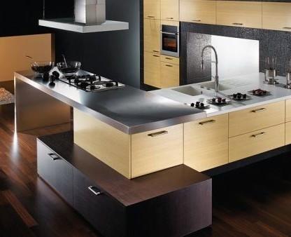 маленькие современные кухни фото